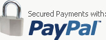 Secured payments with PayPal