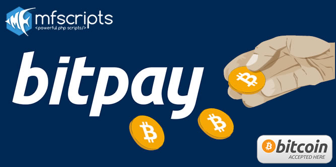 Now Supporting Payments With BitCoin - BitPay